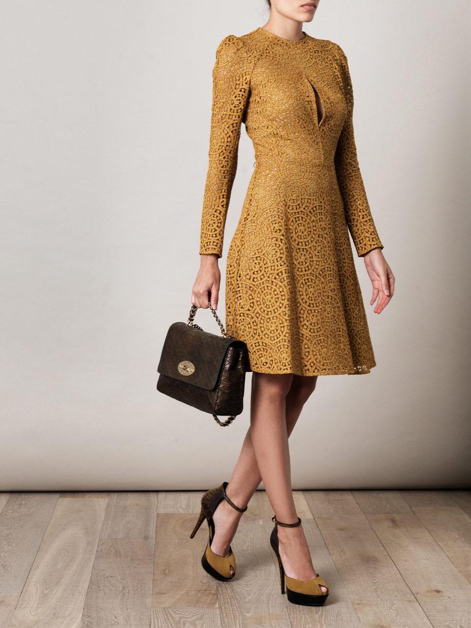 Carven Dress French Lace Online Shop