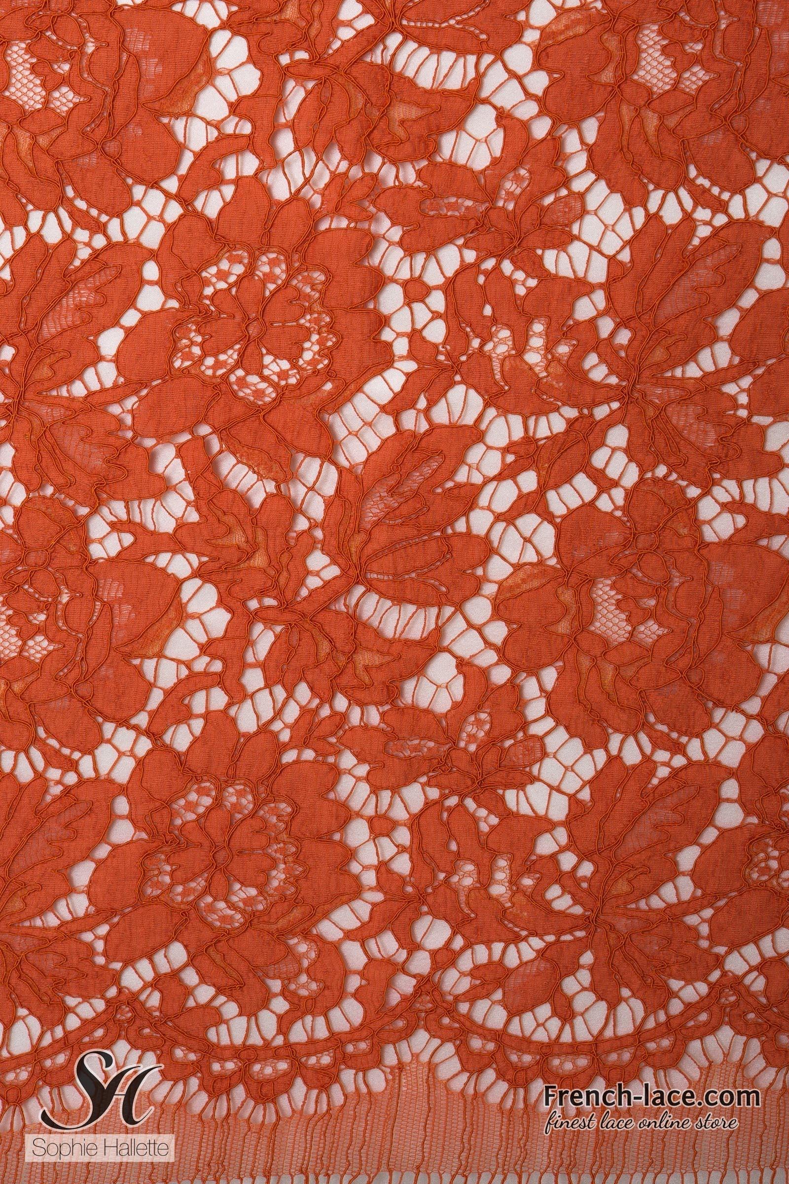 monaco 90 orange french lace online shop. Black Bedroom Furniture Sets. Home Design Ideas