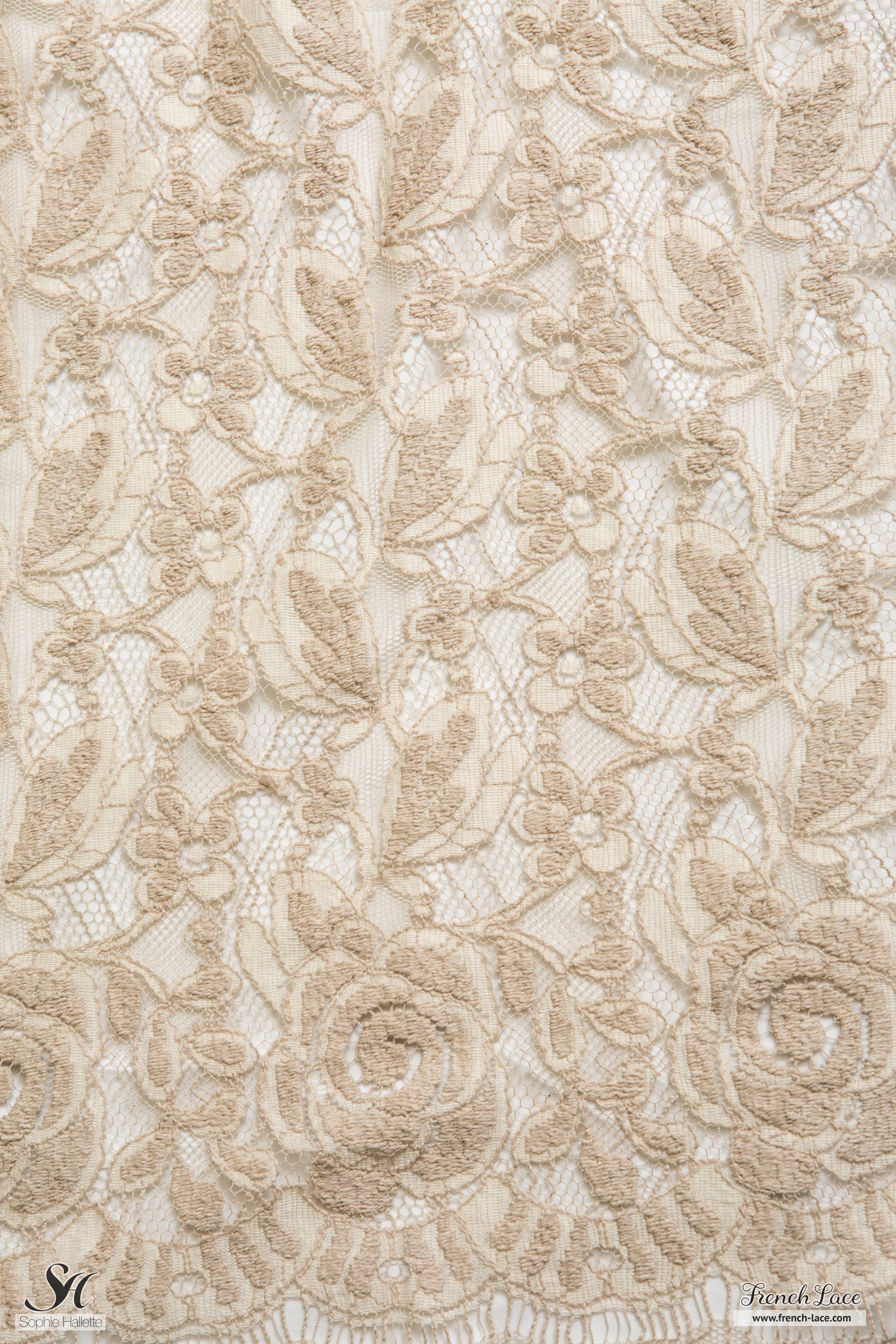 Inverno 90 Beige Sable French Lace Online Shop