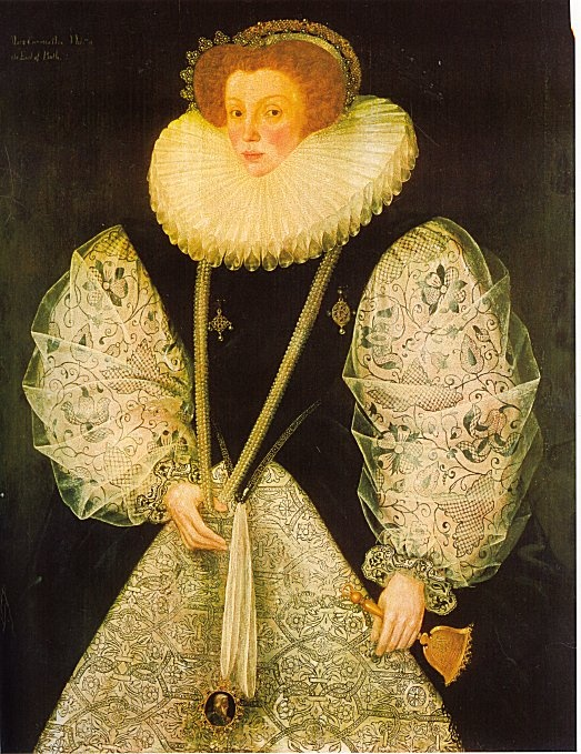 Mary Cornwallis, wife of William Bourchier, third Earl of Bath (1575)