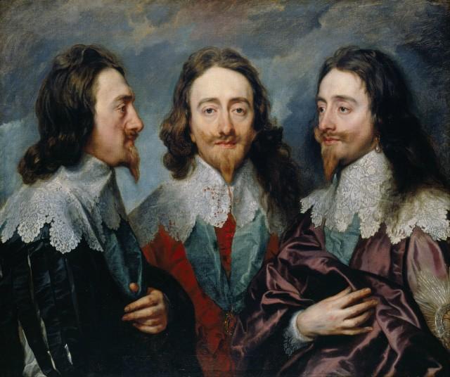 Sir Anthony Van Dyck — Charles I (XVII)