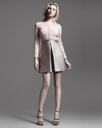 Victoria Beckham's lace shirt