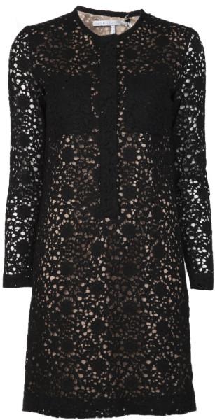 Victoria Beckham's lace dress