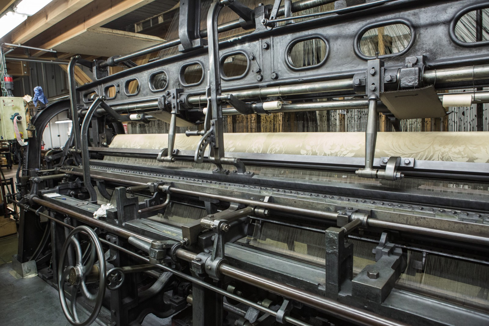 Lyon Lace loom on the Jean Bracq factory